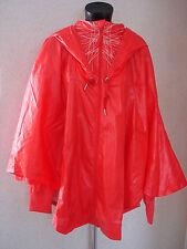 adidas Olympic Poncho Hooded Raincoat Festival Jacket X 3 Large