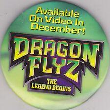 """VINTAGE 3"""" PINBACK #28-192 - MOVIE - DRAGON FLY Z: THE LEGEND BEGINS"""