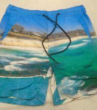 Duchamp Mens Bondi Iceberg Print Board Shorts Swim Trunk NWT XL
