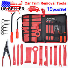 19X Trim Removal Tool Kit Trimmer Car Interior Handle Door Pliers Remover Set