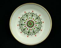 Vintage Royal Worcester Bone China Made in England Round Pin Tray Enamel Jewels