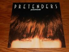 The Pretenders Packed! Poster Flat Square 2-Sided 1990 Promo 12x12