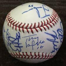 2011 ST LOUIS CARDINALS SIGNED MLB BASEBALL DAVID FREESE TONY LARUSSA +18 wPROOF