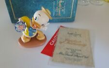 Mr. Duck Steps Out Huey Tag Along Trouble Wdcc Nib Porcelain Figurine