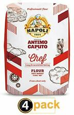 "Antimo Caputo ""00"" Chefs Flour 1 Kilo (2.2 Pounds) Bags Pack of 4"