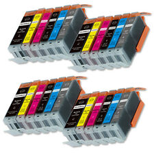 24 NEW Ink Set for PGI-250 CLI-251 Canon MG6320 MG7120 MG7520 chip Installed