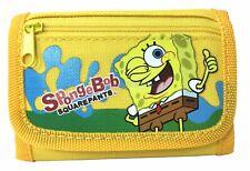 Spongebob wallet Yellow Children Boys Girls Wallet Kids Cartoon Coin Purse