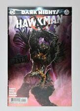 Dark Nights Hawkman Found #1 Foil Cover One Shot DC 2018 Batman Metal Tie-In