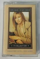 Barbra Streisand A Collection Greatest Hits Cassette Tape 1989 CBS Records
