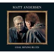 Andersen MATT - Charbon d'exploitation minière Blues NOUVEAU CD