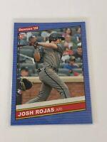 2020 Panini Donruss Baseball '86 Retro Rookie - Josh Rojas RC - Giants