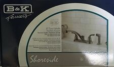 Faucet Kitchen W/Spray 2handle 224-018 B & K OIL RUBBED BRONZE
