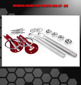RACKING HOOD PINS LOCK KIT RED ELEMENT SRX STS XLR ASTRO SSR 300M SC1 CC RABBIT