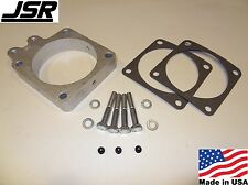 86-93 Mustang GT LX 5.0 EGR Throttle Body Spacer Nitrous Plate Kit 1 inch X 90mm