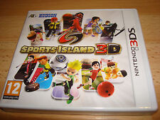 SPORTS ISLAND 3D ** NEW & SEALED ** Nintendo 3DS Game