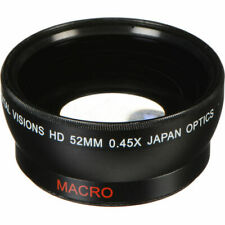 Bower 52mm 0.45x Pro HD Wide Angle Conversion Lens