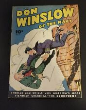 Don Winslow of the Navy #26 (Fawcett May 1945) 73 Year Old Golden Age War Comic