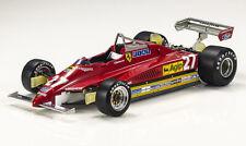 GP Replicas FERRARI F1 126 C2 1982 Villeneuve #27 1/18 New Release! LE of 500