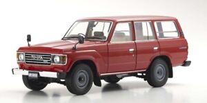 Toyota Land Cruiser 60 (Red) 1980 1:18 Kyosho