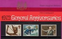GB Presentation Pack 40 1972 GENERAL ANNIVERSARIES