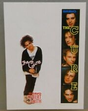 2x Sticker - Decal  / Robert Smith - The Cure with org.back 80's (08639)