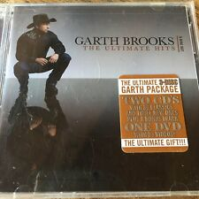 Garth Brooks Ultimate Hits LIMITED EDITION (2-CD 1-DVD) Brand New seal