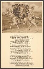 Devon - Widdecombe Fair - Vintage Frith Printed Song Postcard