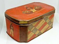 Vintage Empty Tin Tea Box TURKISH TEA