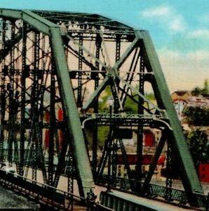 West Brownsville Bridge Pennsylvania Minsky Bros & Co Monongahela River B-4