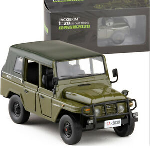 1:28 Beijing 2020 Jeep Alloy Car Model five-door Pull Back Sound and Light Toy