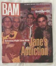 BAM MUSIC MAGAZINE - JANE'S ADDICTION - DAVID LEE ROTH - RCR Nov 21 1997 #522