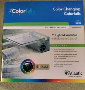Atlantic Water Gardens Color Changing Colorfalls + Control Module CC06