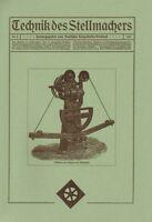 Technik des Stellmachers Nr.3/1921 Stellmacher Wagner Wagenbau Wagnerei Reprint