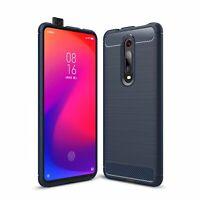 Xiaomi Mi 9T Case Phone Cover Protective Case Cases TPU Blau