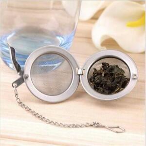 Tea Infuser Ball Mesh Loose Leaf Herb Strainer Stainless sphere swan filter