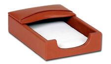 Tan Genuine Leather 4x6 Memo Holder