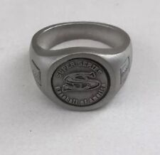 RIDEAU PEWTER Ring SUPER SERIES BASEBALL OF AMERICA Arizona 2nd Place Size 9