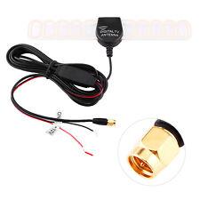 Car Digital TV DVB-T 12V FM Antenna Booster Amplifier Amp SMA Connector Plug OB