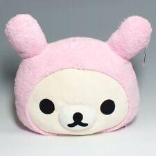 San-X Korilakkuma Bunny Rabbit Pillow BNWT .  Rilakkuma Kiiroitori Plush