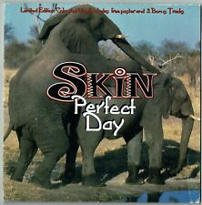 "SKIN - 7"" - Perfect Day. Limited Red Coloured Vinyl + Poster.  UK Parlophone"