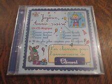 cd album bon anniversaire CLEMENT joyeux anniversaire