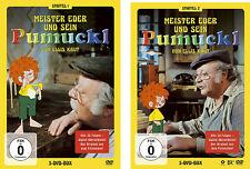 10 DVDs * MEISTER EDER UND SEIN PUMUCKL - STAFFEL 1+2 - IM SET - Rem. #NEU OVP!