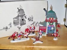 Dept. 56 North Pole Accessory ~ Peppermint Skating Party #56363