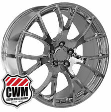 "OE Performance 161C 22 inch Jeep Grand Cherokee Chrome Wheels Rims 22x9.5"" 5x5"""