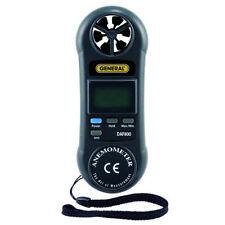 General Tools DAF800 Miniature Digital Anemometer, 80 to 5910 ft./min