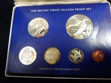 1975 British Virgin Islands Proof Set 6 Coin Set Coa (#F-5)