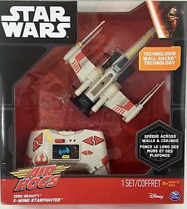 Air Hogs Star Wars Remote Control X-Wing Starfighter Zero Gravity