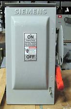 Siemens 30 Amp Safety Switch HF221NR 240 VAC 3R