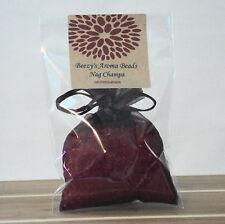 Beezy's Homemade Nag Champa Aroma Bead Deep Red Air Fresheners