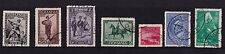 More details for romania - 1931 centenary of romanian army - cds used - sg 1209-15